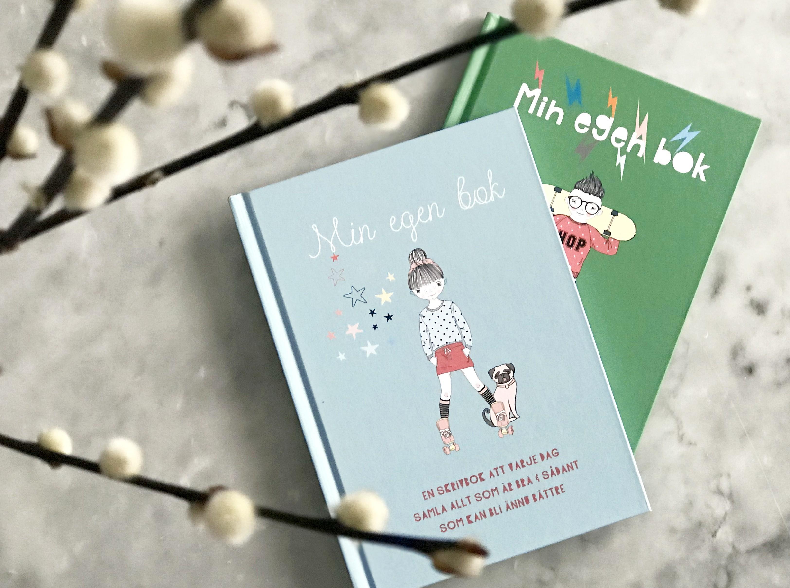 Pyssliga skrivböcker för barn