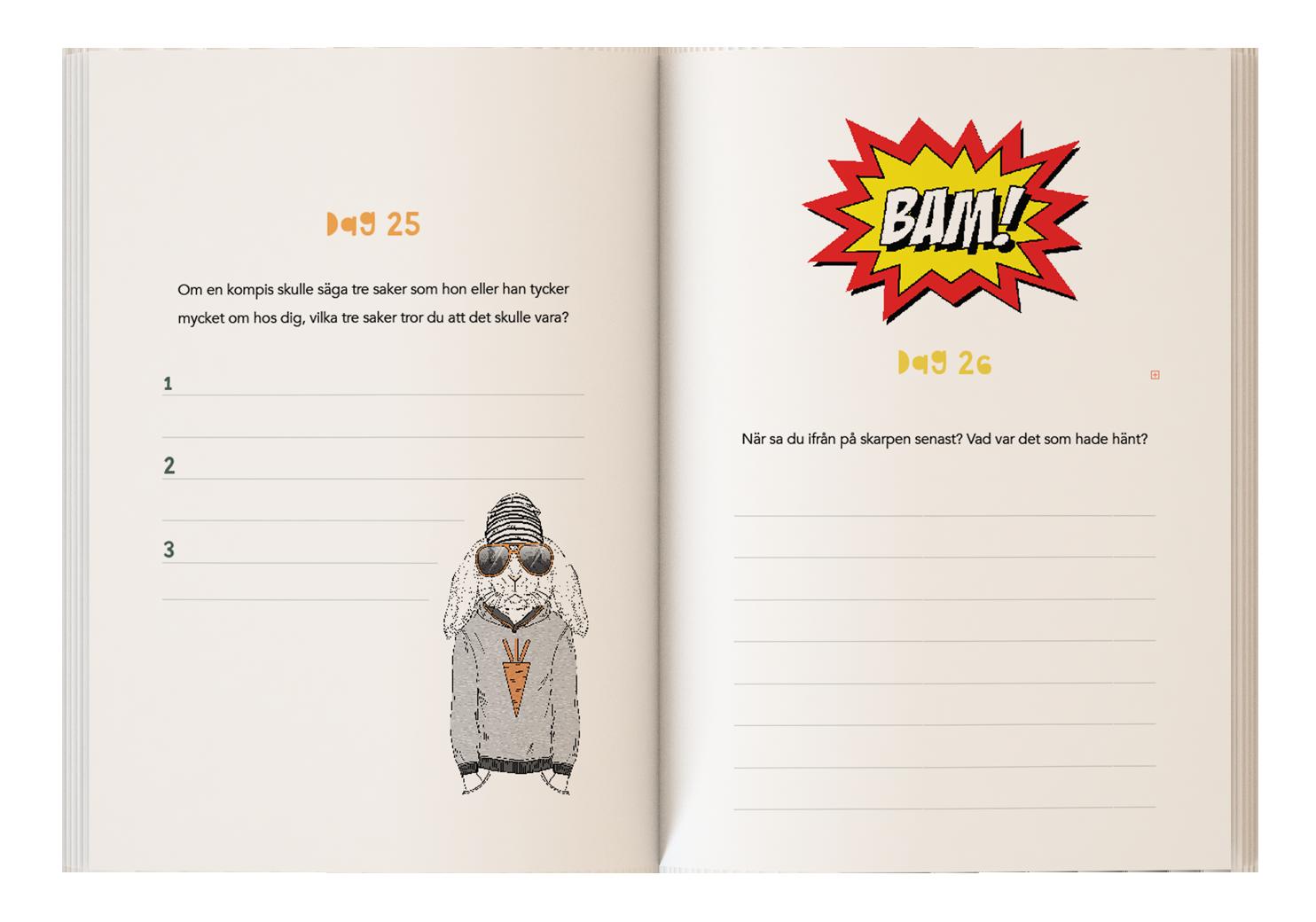 Skrivbok för barn