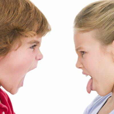 Föreläsning för föräldrar med barn som bråkar mycket med varandra.